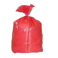 Red Polythene Laundry Bags
