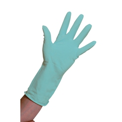Clean Grip Green Rubber Gloves