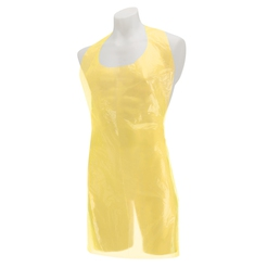Premier Disposable Plastic Aprons Roll - Yellow