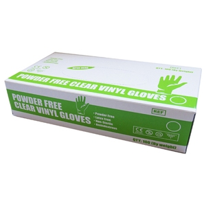 Safecare PPE Clear Vinyl Gloves (S)