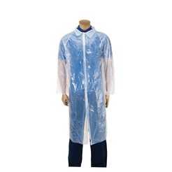 Premier Disposable Plastic Visitor Coats (One Size)