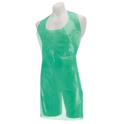 Premier Disposable Plastic Aprons Roll - Green
