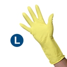 Clean Grip Yellow Rubber Gloves (L)