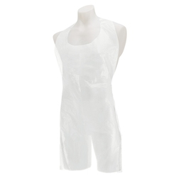 Premier Disposable Plastic Aprons Roll - White