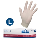 Healthgard Latex Examination Gloves (L)