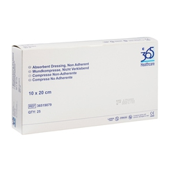 365 Non Adherent Wound Dressings (10 x 20 cm)