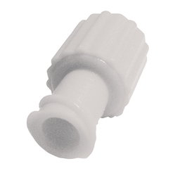 Obturator Caps Male/Female - Luer Lock - White