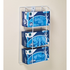 Premier Wall Mount Glove Box Holder - Triple Rack