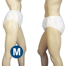 Premier White Unisex Disposable Briefs (M)