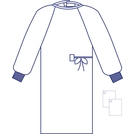 365 Standard Protection SSMMS Surgical Gowns (M)