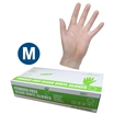 Safecare PPE Clear Vinyl Gloves (M)