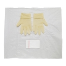 Polyfield Packs White Bag Latex Gloves (M)