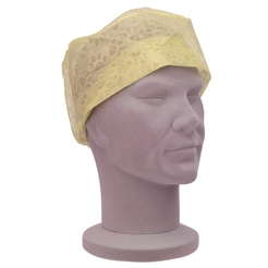 Universal Yellow Theatre Caps (Elasticated Backs)