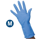 Clean Grip Blue Rubber Gloves (M)
