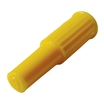 Plugs - Female - Luer Slips - Yellow