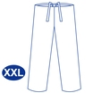 Blue Scrub Trousers (XXL)
