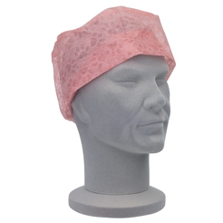 Universal Pink Theatre Caps (Elasticated Backs)