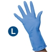 Clean Grip Blue Rubber Gloves (L)